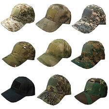 WOW Unisex Camo Baseball Cap Military Hunting Outdoor Hat Army Camouflage New