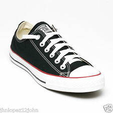 Converse Classic Chuck Taylor All Star Black Low OX Men Women Canvas Trainers