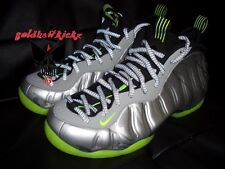 Nike Air Foamposite One PRM Silver Camo Volt green penny 3m reflective laces