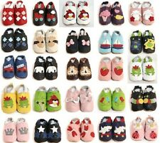 Soft Sole Leather Baby Shoes Kids Toddler Children Kids Sizes 0 - 24 Months New