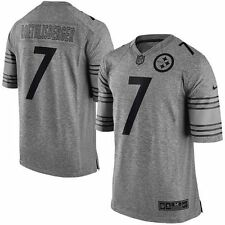 Nike Ben Roethlisberger Pittsburgh Steelers Gridiron Grey NFL Jersey Size XL