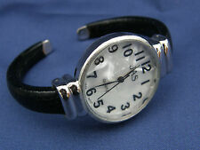 LOVELY JAS BRACELET CLASP LADIES WRIST WATCH Mother of Pearl face ~ New Battery