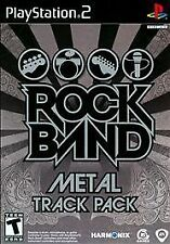 Rock Band Metal Track Pack (PlayStation PS2) Brand New, Sealed!
