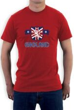ENGLAND Flag T-Shirt UK National Team Soccer Football Fan Women's World Cup 2015