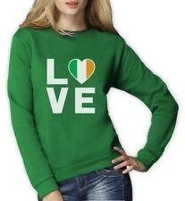 I Love Ireland - Irish Pride Flag of Ireland Gift Idea Women Sweatshirt Novelty