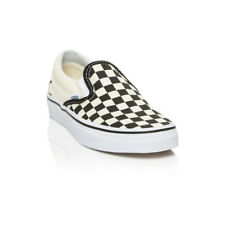Vans - Classic Slip on Casual Shoe - Black/White Checkerboard