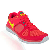 Nike - Flex Run 2014 Womens Running- Hyper Punch/Action Red/Hyper Jade/Volt