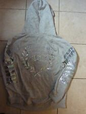 """VICTORIAS SECRET PINK RARE BLING BLING LIMITED EDITION """"WREATH""""""""PINK"""" HOODIE NWT"""