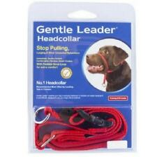 Gentle Leader Headcollar Red S, M, L & XL- Beau Pets Gentle Leader Head Collar