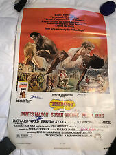 MANDINGO Single Sided RARE Movie Poster SIGNED by 5 cast members w/ COA