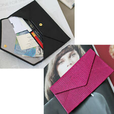Genuine leather Women wallet Lady purse Card Long Clutch Bag Handbag Cow Leathe