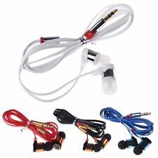 For IPhone Samsung CellPhone MP3 MP4 IPod PC 3.5mm In-Ear Headphone Earphone