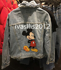 Pull & Bear WOMAN Mickey Mouse denim jacket S,M,L ( ZARA GROUP ) REF. 5714/326