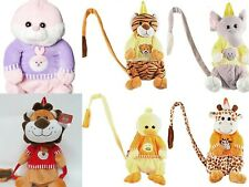 Kids Toddler Safety Anti-Lost Harness Leash Walk Keeper Plush Backpack Child New