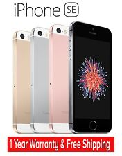 Original Apple iPhone SE 4G LTE GSM Factory Unlocked (16GB/64GB) -Refurbished