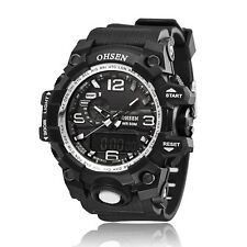 OHSEN Army Watch Sport Quartz Wrist Men Mens Analog Digital Waterproof Military
