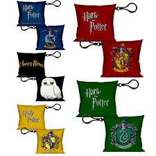 AUTHENTIC Harry Potter Plush Keychains Gryffindor Slytherin Ravenclaw Hufflepuf