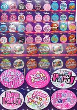 Girl Boy Princess 18th Today My Birthday Teenager Birthday Dude Hen Party Badge