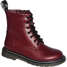 Vegan 7 Hole Boots 37 38 39 40 41 42 43 44 45 46 red oxblood cherry red