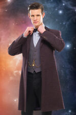 Official 11th Eleventh Doctor Who Prop Replica Cosplay Purple Frock Coat