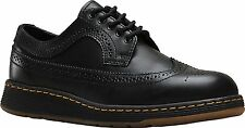 Mens Dr Martens Gabe 5 Eye Lace Up Wing Tip Shoe Black Temperley 22187001