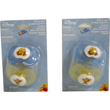2 POOH TIGGER Ultra Kip Infant Pacifiers 0+ Months 3+ Months The First Years NIP