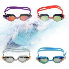 Adult Swimming Goggles Mask Mirrored Anti-Fog UV Shield Swim Glasses Eye Protect