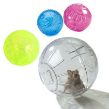GREAT SIZE HAMSTER BALL EXERCISE BALL 12 CM WIDE GERBIL DURABLE PLAY TOY