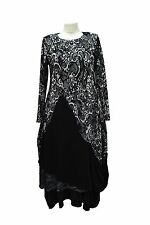 COVERUP LAGENLOOK BOHO LAYERING BALLOON LONG SLEEVE DRESS BUST 38-42""