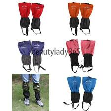 NEW Outdoor Waterproof Hiking Climbing Gaiters Leg Cover Boot Shoes Legging Wrap