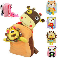 New Plush Cartoon Animal Kids Kindergarten School Shoulder Bags Backpack