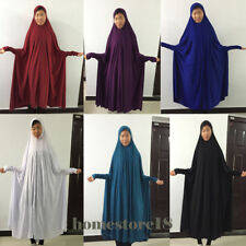 Kids Girls Dress Muslim Hooded Dress Islamic Clothing Maxi Dress Abaya Kaftan