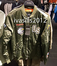 Pull&Bear MAN Patches bomber jacket S-XL ( ZARA GROUP ) Ref. 5714/502