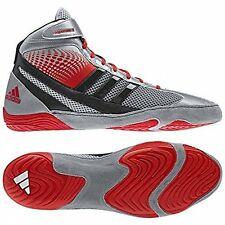 Adidas USSH1603051343 Response 3.1 Wrestling Shoes - Silver/ 12
