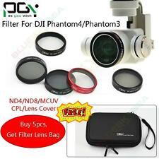 PGY HD Camera ND4 ND8 /CPL Polarizer/MC UV Filter Lens Cover For DJI Phantom 4/3