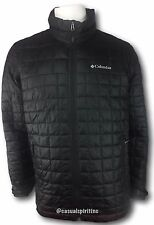 Columbia mens Rilan Ridge Omni Heat insulated winter jacket coat Black M L XL