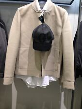 ZARA MAN FAUX LEATHER JACKET XL BEIGE Ref. 1966/300