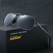 Mens Fashion Polarized Aviator Driving  Sunglasses Outdoor Sports Shades Eyewear