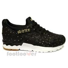 Shoes Asics Gel Lyte V h785l 9090 woman Sneakers Running Black Fashion Casual