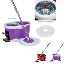 Spin Mop 360° Rotating Spin Magic Mop and Bucket Set Foot Pedal Rotating L4L5