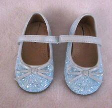 NEW CHEROKEE GIRLS TURQUISE SPARKLE DRESS SHOES 5, 6, 7, 11