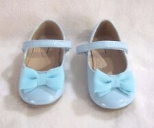 NEW CHEROKEE GIRLS TODDLERS TURQUOISE PATENT DRESS SHOES  5,6,7,8,9,10,11