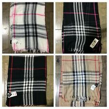 Style & Co. Plaid Scarf multi-color