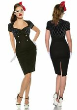 Sexy 1950'S Jahre Pin Up Vintage Rockabilly Kleid Dance dress Gr S to 3XL