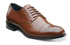 Stacy Adams Granville Cognac Cap Toe Dress Mens Shoes