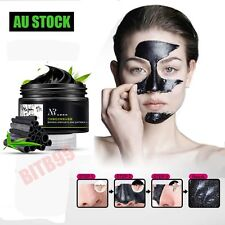 AU Face Mask Nose Blackhead Acne Pore Deep Remover Cleansing Strip Black Mud OU