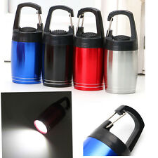 Ultra Bright Aluminum Barrel Portable Keychain COB LED Mini Flashlight Camping