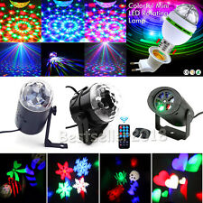 RGB LED Laser Projector Club DJ Disco Bar Stage Lighting Lights Xmas Party Decor