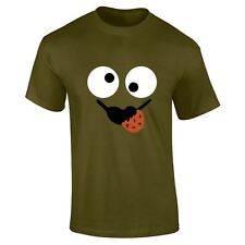 Mens Boys Cookie Monster Top Summer Funny Designer Fashion Lot Printed T Shirt