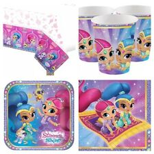 Shimmer and Shine Birthday Party Kit for 8-40 Plates Cups Napkins Table Cover